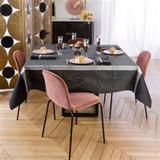 Le Jacquard Francais Palace Caviar Tablecloth 69 X 98 Inch MPN: 23562 EAN: 3660269235628