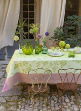 Le Jacquard Francais Asia Mood Petal Tablecloth 69 X 98 Inch MPN: 24213 EAN: 3660269242138
