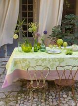 Le Jacquard Francais Asia Mood Petal Tablecloth 86 X 86 Inch MPN: 24409 EAN: 3660269244095