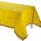 Le Jacquard Francais Boheme Yellow Tablecloth 59 X 59 Inch MPN: 24425 EAN: 3660269244255