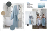 Le Jacquard Francais Duetto Adriatic Robe Medium-Large Size MPN: 24498 EAN: 3660269244989