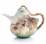 Franz Porcelain Family Fun Elephant Teapot, MPN: FZ03025, UPC: 817714011099