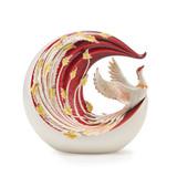 Franz Porcelain Phoenix Vase, MPN: FZ03618, UPC: 817714016193