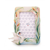 Franz Porcelain Swan Picture Frame, MPN: FZ03636, UPC: 817714016179