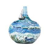 Franz Porcelain Vase Boundless Ocean Limited Edition, MPN: FZ03690