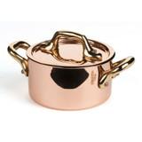 Mauviel M'Mini Copper Cocotte 9cm 3.5 Inch 0.4 Qt. MPN: 6531.09 EAN: 3574906531090