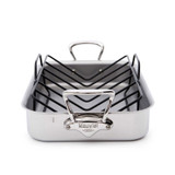 Mauviel M'Cook Roasting Pan with Roasting Rack 15.7 x 11.8 Inch MPN: 5217.15 EAN: 3574905217155