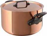 Mauviel M250C Stewpan & Lid 28cm 11 Inch 9.4 Qt. MPN: 6545.03 EAN: 3574906545035