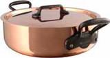 Mauviel M250C Rondeau & Lid 28cm 11 Inch 6.6 Qt. MPN: 6546.03 EAN: 3574906546032