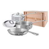Mauviel M'Cook 5 Piece Set with Crate MPN: 5200.20WC EAN: 3574908700333