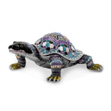 By Jere Azure Turtle Trinket Box Enamel on Pewter, MPN:  BJ2002, UPC: 191101594496