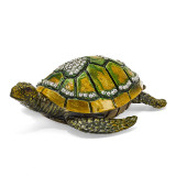 By Jere Sea Turtle with Heart Trinket Box Enamel on Pewter, MPN:  BJ2007, UPC: 191101594533
