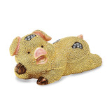 By Jere Cute Pig Trinket Box Enamel on Pewter, MPN:  BJ2039, UPC: 191101594786