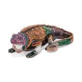 By Jere Colorful Lizard Trinket Box Enamel on Pewter, MPN:  BJ2048, UPC: 191101594878