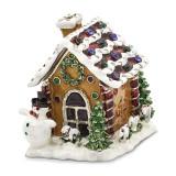 By Jere Gingerbread House Trinket Box Enamel on Pewter, MPN:  BJ2058, UPC: 191101594977