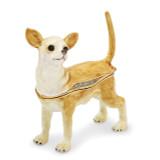 By Jere Chihuahua Trinket Box Enamel on Pewter, MPN:  BJ2164, UPC: 191101595615