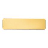 By Jere 3 4 x 3 Brass Single Plate Polished, MPN:  GL6672-1, UPC: