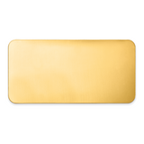 By Jere 1 1 2 x 3 Brass Single Plate Polished, MPN:  GL6675-1, UPC: