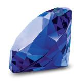 By Jere Blue Glass Gemstone Paperweight Award, MPN:  JGP512B, UPC: