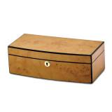 By Jere Burlwood Veneer High Gloss Finish with Lift Tray Jewelry Box, MPN:  JJB257, UPC: 191101682025