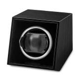 By Jere Black Finish Wood Acrylic Window Single Watch Winder, MPN:  JWW711-B, UPC: 191101679766