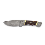 By Jere Blade Tinted Camel Bone Handle Knife Damascus Steel 256 Layer Fixed, MPN:  KN31290, UPC: 191101679957