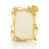 Jay Strongwater Breanna Floral Branch 4 x 6 Inch Picture Frame Composition MPN: SPF5858-292