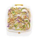 Jay Strongwater Joslyn Flower & Vine Compact Great Gifts MPN: SCB8075-281