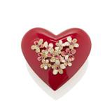 Jay Strongwater Maren Bouquet Heart Box Valentine's Day MPN: SDH7383-222