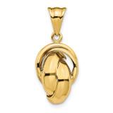 Leslie's Pendant 14k Polished Gold MPN: LF1220