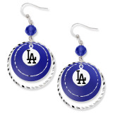 Los Angeles Dodgers Game Day Earrings MPN: DOD068ER-CR