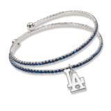 Los Angeles Dodgers Amped Logo Crystal Bracelet MPN: DOD077BR-CR