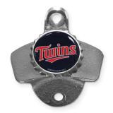 MLB  Minnesota Twins Wall Mounted Bottle Opener Siskiyou Buckle, MPN: GC5449, UPC: 754603005480