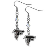 NFL Atlanta Falcons Crystal Dangle Earrings, MPN: GC5725, UPC: 754603337321