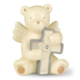 April Ceramic Acrylic Bear Angel With Cross Ceramic, MPN: GM13219, UPC: 13051512859