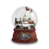 Glitterdome Musical Santa In Sleigh, MPN: GM15740, UPC: 89945550276