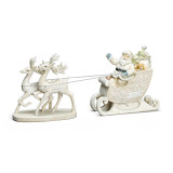 Paper Cut Style Santa With Sleigh, MPN: GM15782, UPC: 89945520361