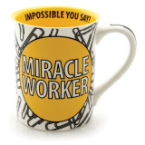 Our Name Is Mud Miracle Worker Mug, MPN: GM16285, UPC: 455447293902
