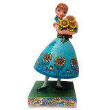 Jim Shore Frozen Fever Anna Figurine, MPN: GM16680, UPC: 455448361358