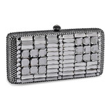 Black Crystal Evening Bag with Chain, MPN: GM16962, UPC: 788089139094