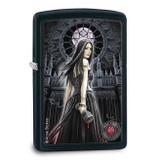 Zippo Anne Stokes Collection 5 Black Matte Lighter, MPN: GM17903, UPC: 41689288587