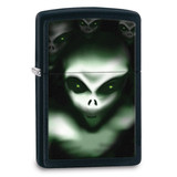 Zippo Scary Alien Black Matte Lighter, MPN: GM17910, UPC: 41689288631