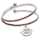 Cincinnati Reds Amped Logo Crystal Bracelet MPN: RDS077BR-CR