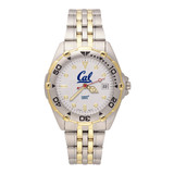 University of Cal-Berkeley Man's All-Star Bracelet Watch, MPN: UCB103, UPC: 634401683717