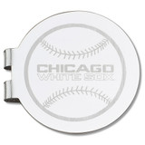 Chicago White Sox Engraved Money Clip MPN: WHI095-MC