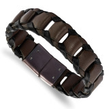 """Chisel Stainless Steel Polished Brown IP-plated 8.25/"""" Bracelet SRB2528-8.25"""