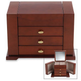 Reed and Barton Amelia Jewelry Chest, MPN: 684DCTS, UPC: 735092224026