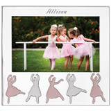 Reed and Barton Engravable Ballerina Silverplate Picture Frame 5 x 7 Inch, MPN: 877203, UPC: 735092259608