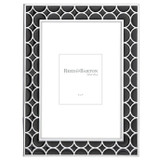 Reed and Barton Circles Black Chrome 5 x 7 Inch Picture Frame, MPN: 871505, UPC: 735092256973