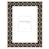 Reed and Barton Circles Black Gold 5 x 7 Inch Picture Frame, MPN: 871506, UPC: 735092256980